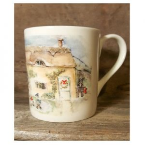 Sally Belinda | Illustrator | Cottage Mug