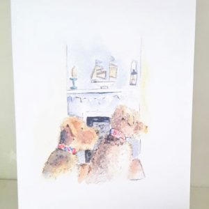 Sally Belinda   Designed Commissions   Dogs Card