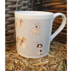 Sally Belinda | Illustrator Cheshire | Dog China Mug