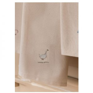 Sally Belinda | Illustrator North West | Goosey Embroidered Tea Towel