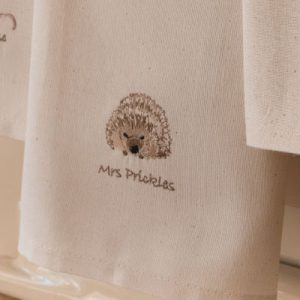 Sally Belinda | Illustrator | Hedgehog Tea Towel