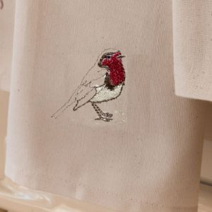 Sally Belinda | Illustrator Cheshire | Robin Tea Towel